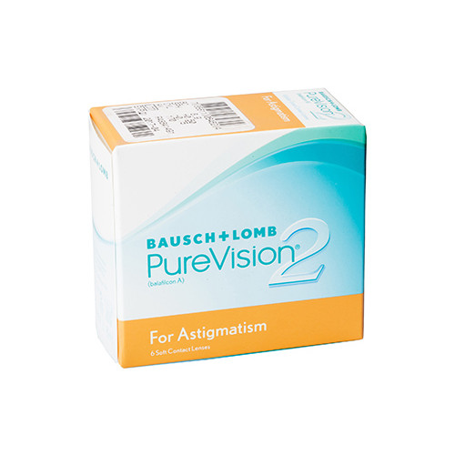 Акционный набор 3+3 Pure Vision 2 For Astigmatism